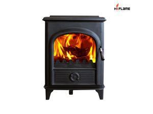 HiFlame Shetland HF907U (SISTERS HF905U) 8KW Wood Burning Stove with Cast Iron Door