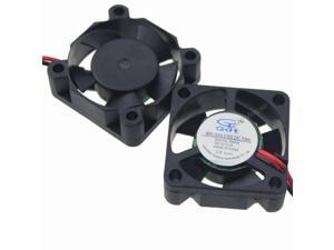 10Lots 5V DuPont 2Wire 35mm 35x35x10mm Small DC Brushless Computer Cooling Fan