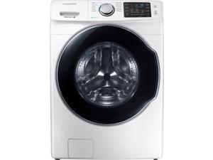 Samsung - 4.5 Cu. Ft. 10-Cycle Front-Loading Washer with Steam - White