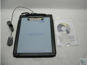 T-C912-B-R ClipGem Letter Size Signature Capture Pad - Serial Connection