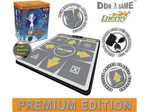 "Dance Dance Revolution Energy HD 1"" Foam Deluxe Dance Pad for PS/ PS2/ Wii/ Xbox/ PC - DDR Game"
