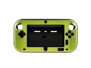 Green Anti-shock Hard Aluminum Metal Box Cover Case Shell for Nintendo Wii U Gamepad