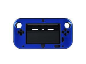 Blue Anti-shock Hard Aluminum Metal Box Cover Case Shell for Nintendo Wii U Gamepad