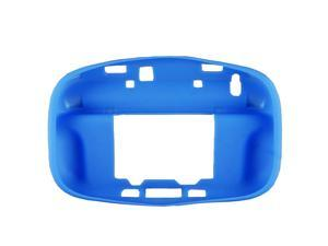 Blue Soft Silicon Case Cover Skin Sleeve Pouch for Nintendo Wii U Gamepad