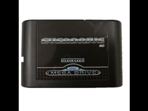 SEGA GENESIS MegaDrive(MD) EDMD Game Cartridge, USA, Japanese and European game card shell