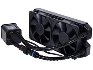 Alphacool Eisbaer 240 CPU All in One High Performance Water / Liquid Cooler Extendable 240mm Copper Radiator - black (11285)