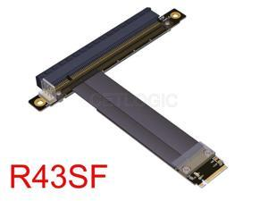 M.2 Key M to PCIe x16 Extender Cable Adapter, R43S,Stable PCIe Gen3 8Gbps