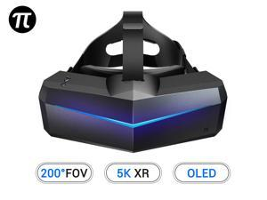 Pimax 5K XR OLED VR Virtual Reality Headset with Wide 200°FOV, Dual 2560x1440p OLED Panels & 6 DOF Tracking, 1-Year Warranty [Headset Only]