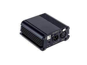 The SMPS-USB Phantom Power Supply - Provides 48V phantom power for condenser microphones,