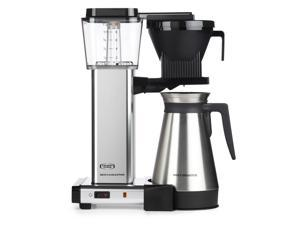 Technivorm Moccamaster 79312 KBGT 10 Cup Coffee Brewer with Thermal Carafe - Silver
