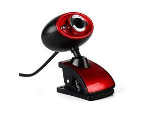 USB High Definition HD 16 Million Pixels Webcam Clip-on Web Camera With Mic Microphone