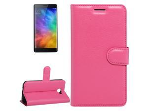 For Xiaomi Note 2 Litchi Texture Horizontal Flip Leather Case with Holder & Card Slots &