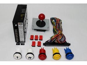 Jamma 412-IN-1 Classic Vertical Arcade Multigame Upright Control KIT, Multicade JAMMA, Mame or Retro PI Ready