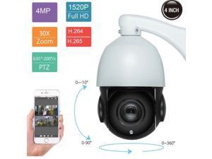 d9d51b1e759 30X Zoom PTZ IP Camera 4MP Pan Tilt Outdoor Security Network ...