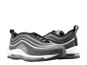 newest 7422d 8ab3e Nike Air Max 97 Ultra  17 Black Pure Platinum Men s Running Shoes 918356-