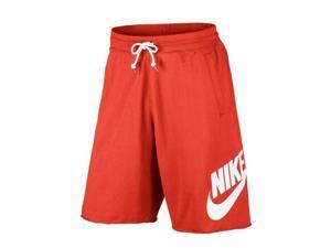 a7289b3b5679 Nike Sportswear GX Logo Max Oranage White Men s Shorts ...