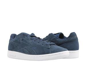6b89cdf98ab41 Reebok Classic NPC UK Perf Navy Hunter Grey Men s Tennis Shoes BD2969 ...
