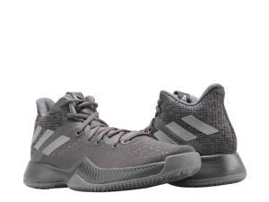 Adidas Mad Bounce J Black/Black/Grey Big Kids Basketball Shoes DB0853 Size 5.5