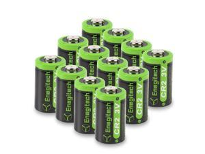 12 Pack CR2 3V 800mAh Lithium Photo Battery with PTC Protection DL-CR2 for Snuza Baby Monitor, Flashlight