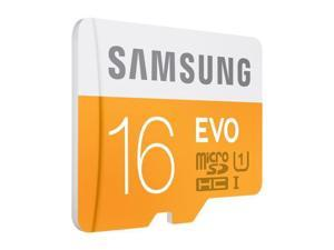 Samsung 16GB EVO microSDHC UHS-I/U1 HC I Class 10 Memory Card with Adapter, Speed Up to 48MB/s (MB-MP16DA/AM) [Old pattern]