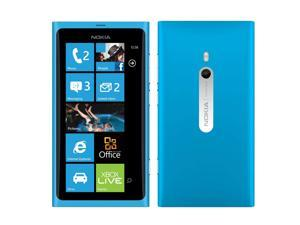 Nokia Lumia 800 16GB (No CDMA, GSM only) Factory Unlocked 3G Smartphone - Blue/Cyan