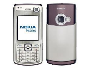 Nokia N70 22MB (No CDMA, GSM only) Factory Unlocked 3G Smartphone - Silver