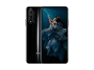 HONOR 20 Dual-SIM 128GB / 6GB RAM (GSM Only, No CDMA) Factory Unlocked 4G/LTE Smartphone - Midnight Black