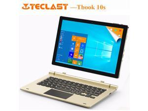 "Teclast Tbook 10s 10.1"" 2 in 1 Tablet PC Intel Cherry Trail Z8350 Quad Core Windows 10+Android 5.1 4G+64GB 1920*1200 IPS Tablets (Without Keyboard)"