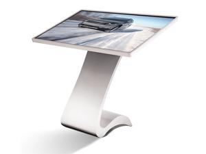 S-Design Touch Screen Kiosk Computer Silver Color Base (49inch)