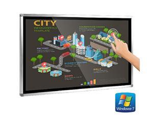 Interactive Kiosk Touch Screen Computer Wall Mounted 49inch