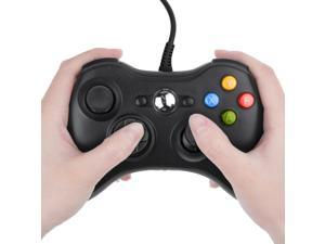 USB Wired Joypad Gamepad Black Controller For Xbox 360 Joystick For Official Microsoft PC for Windows