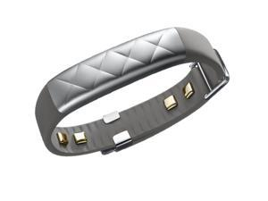 UP3 by Jawbone Heart Rate, Activity + Sleep Tracker, Silver Cross (Gray)