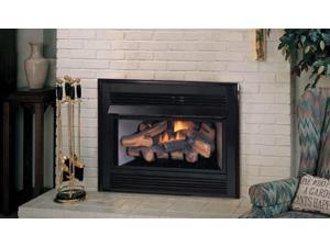 Natural Gas Vent-Free Fireplace Insert with Millivolt Control