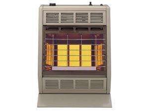 Empire Infrared Heater Natural Gas 18000 BTU, Manual Control 3 Settings