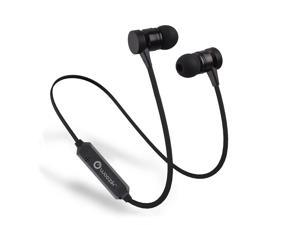 Woozik M900 Bluetooth 4.2 Bluetooth Headphones Magnetic Wireless Earbuds, Stereo Mini Bluetooth Earbuds, In-Ear Earphones with Mic (Secure-Fit, Super Comfortable & Lightweight)
