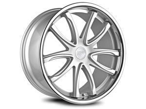 ConceptOne 1282 CR1 20X9.0 ET35 5H120 Silver Machined