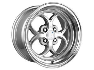 Klutch 1266 SL2 Silver Machined Wheels ET 15 (16x8/4x100mm)