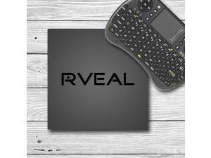 Rveal 2 Streaming Media Player & Mini Touchpad Remote [4K Ultra HD, Octa Core S912, Android TV Box, Elite Streaming]
