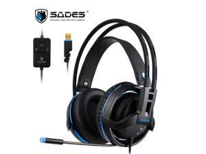 fa725ac07ab SADES Diablo USB Gaming Headset Realtek Audio Virtual ...