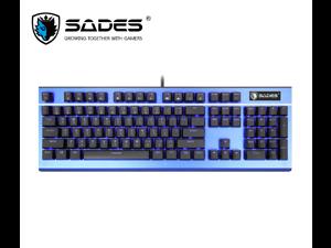1062ea13097 SADES Keyboard Sickle Mechanical Gaming Keyboard 104 Keys USB Plug ...