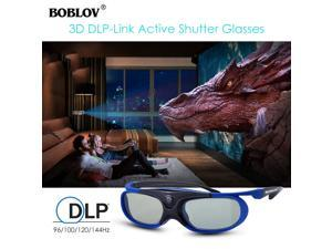 fde58d9c3 2x JX-30 3D Active Shutter Glasses DLP-Link USB Blue For Optoma BenQ