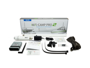Alfa WiFi Camp Pro 2: R36A Router + Tube + 9dbi Outdoor Omni Antenna Repeater KIT WiFi Hotspot sharing set