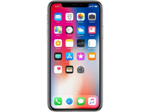 Apple iPhone X 64GB Silver AT&T