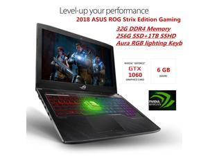"2018 ASUS ROG Strix Thin & Light Gaming Laptop | 15.6"" Full HD 