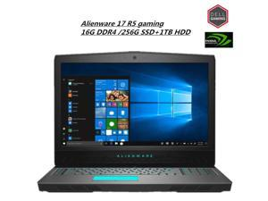 """Dell Alienware 17.3"""" FHD IPS High Performance Gaming Laptop   Intel Core i7-8750H Six-Core   16G DDR4 SDRAM  256G SSD +1TBHDD  NVIDIA GeForce GTX   Backlit Keyboard   Windows 10  Epic Silver"""