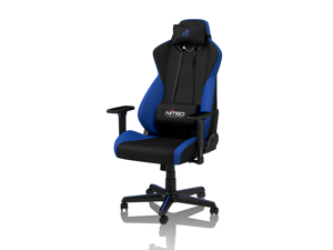 Nitro Concepts S300 Galactic Blue Ergonomic Office Gaming Chair