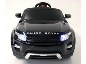 Electric Ride On Car Range Rover 12V Battery Power Motor Wheels For Kids Remote Control MP3 LED Black MP3 Black
