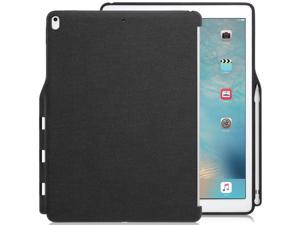 iPad Pro 12.9 Inch Case With Pen Holder - Companion Cover - Perfect match for Apple Smart keyboard &  Cover