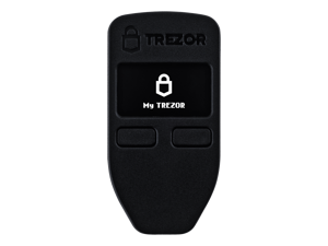 Trezor One Black - The Original Hardware Wallet for Bitcoin, Ethereum, Stellar, Litecoin, Dash, NEM, Zcash And Other Cryptocurrencies And Tokens (600+)