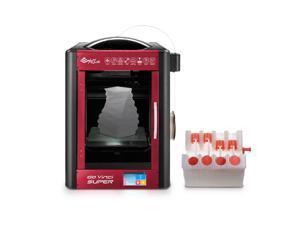 "[Open Filament] XYZprinting da Vinci Super 3D Printer/ Upgradable Laser Engraver - 12"" x 12"" x 12"" Inches Built Volume (ABS/PLA/Flexible/Nylon/PETG/& More)"